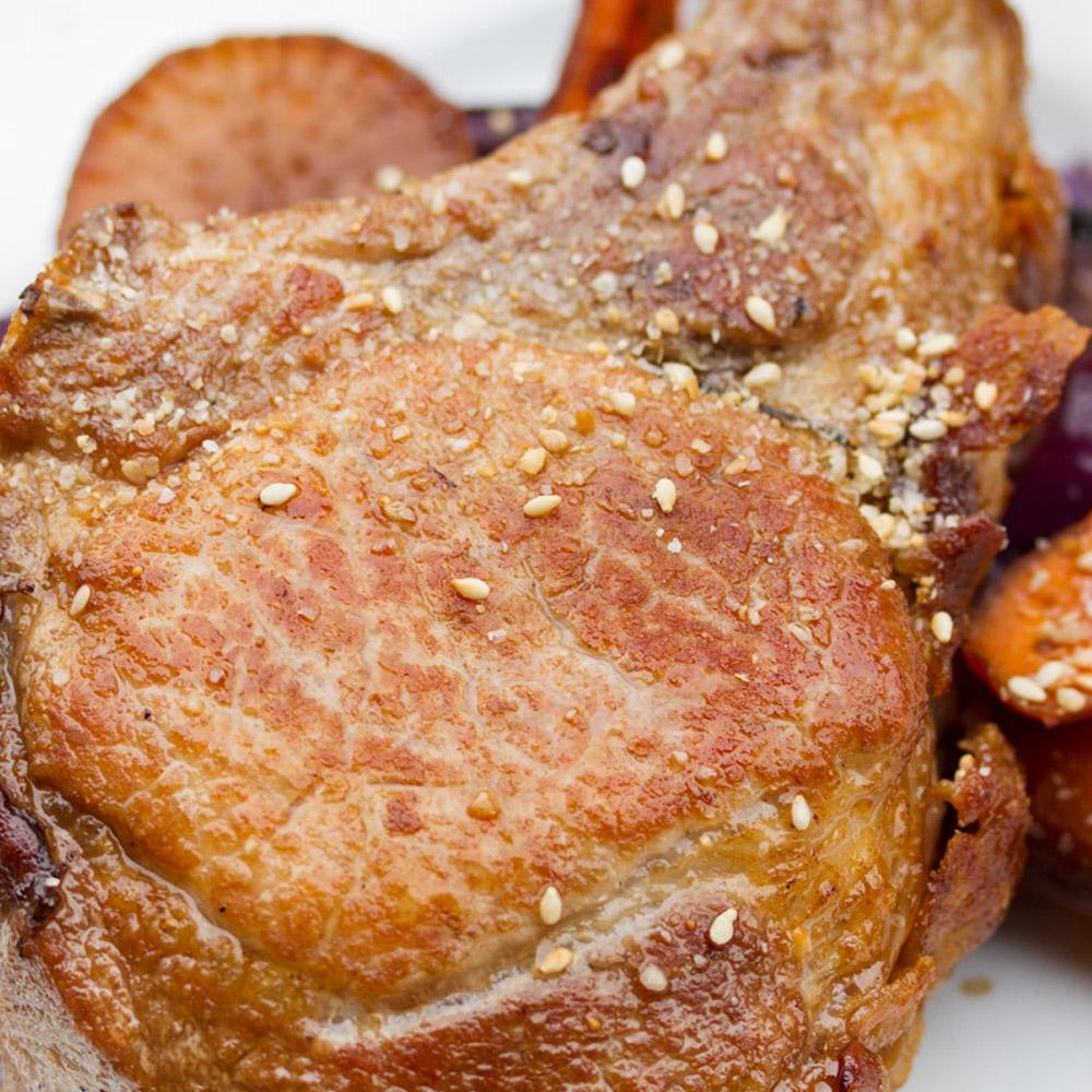 12oz Kurobuta Pork Frenched Rib Chops-2