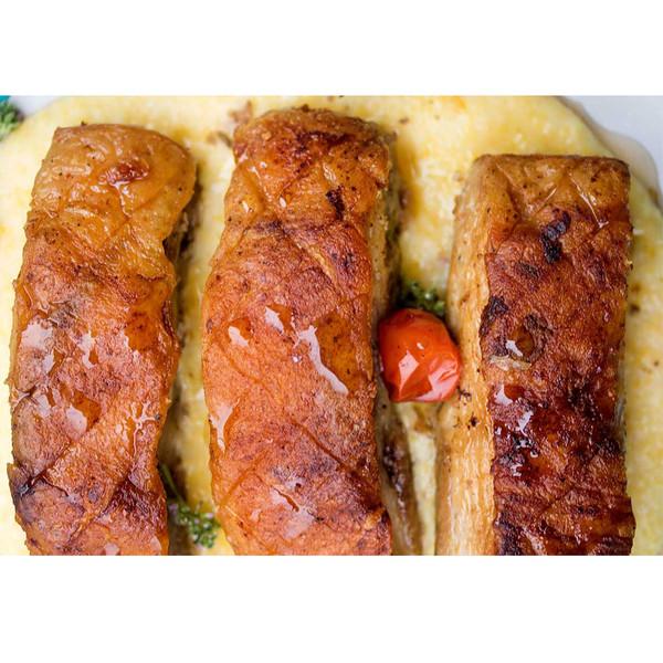 6 strips of Kurobuta (Berkshire) pork maple glazed bacon