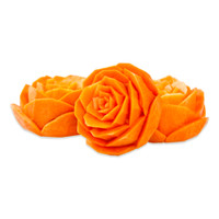Hand Carved Roses-1