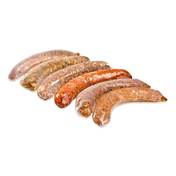 6 Variety Sausage Sampler