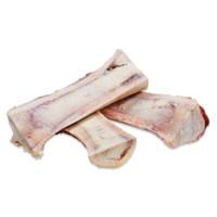Raw canoe-cut marrow bones