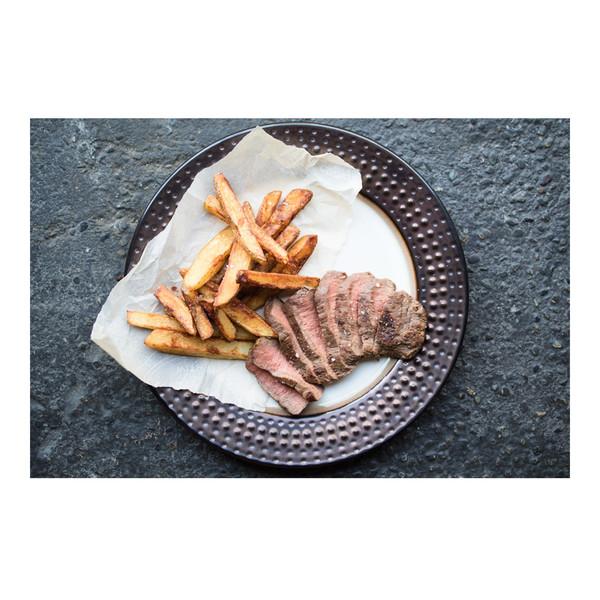 Grass-fed Beef Flat Iron Steaks-2