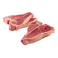 raw grass-fed porterhouse steaks