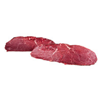 2 whole raw grass-fed Angus beef top sirloin pieces from New Zealand
