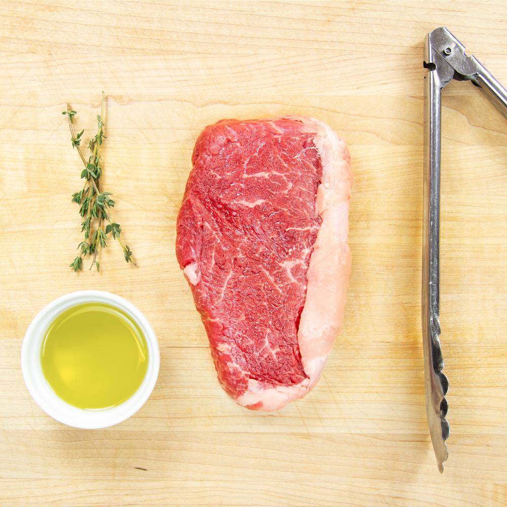 Grass-fed Beef Strip Steaks-1