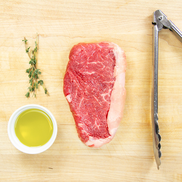 Grass-fed Beef Strip Steaks-1