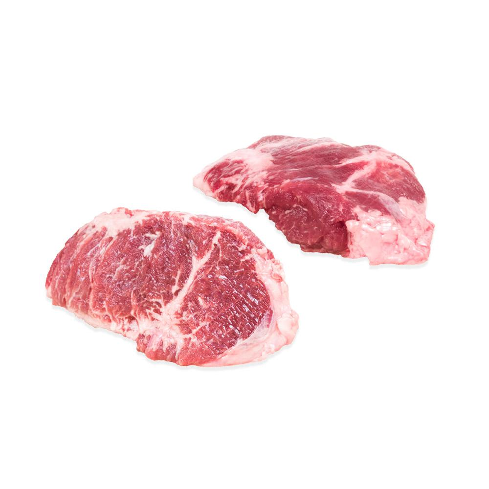 Raw Kurobuta pork cheek meat