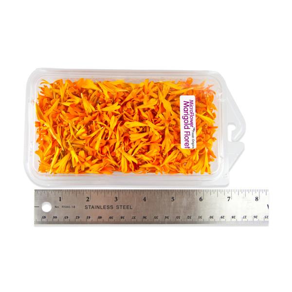 Fresh Micro Marigold Florets-2