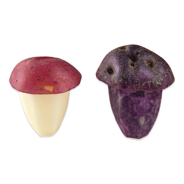 Hand Carved Mushroom (Potatoes)