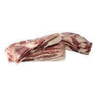Raw wild boar bellies