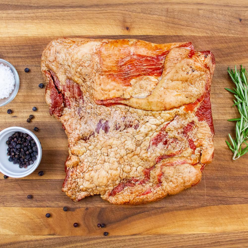 Wild Boar Uncured Maple Slab Bacon-2