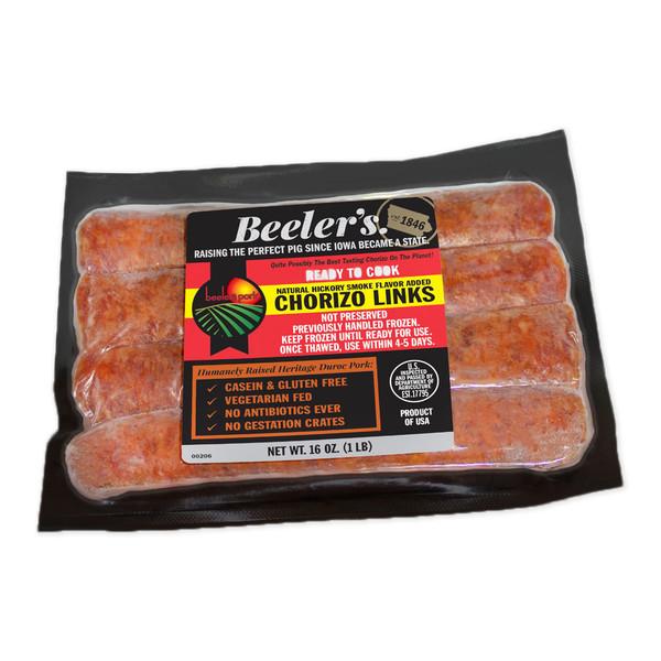 Beeler's Pure Pork Chorizo Sausage-1