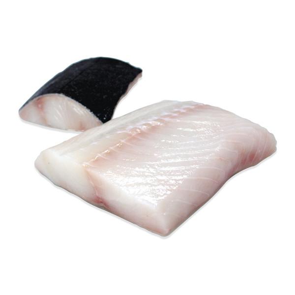 2 skin-on black cod fillets