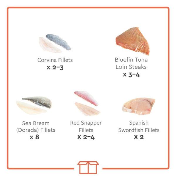 Fish fillet sampler