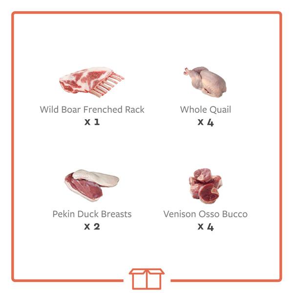 Game meat sampler