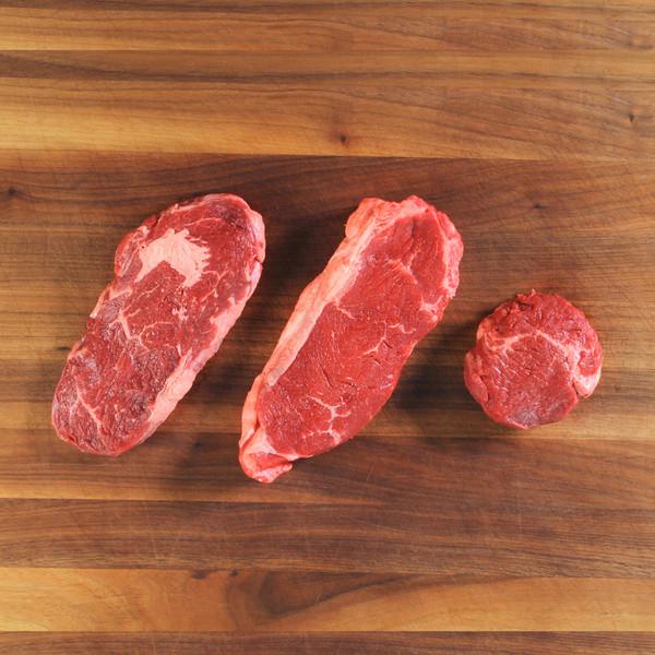 Grass-Fed Beef Steakhouse Sampler Box-3