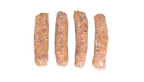 ></div>Wild Boar Sausages w/3 chillies
