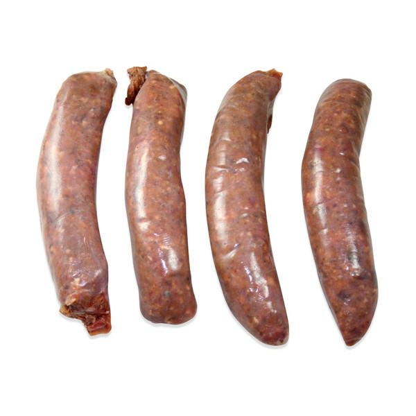 Venison Sausage with Merlot