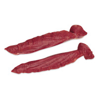 2 whole raw grass-fed farmed venison tenderloins from New Zealand