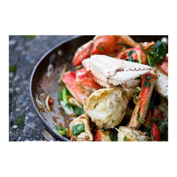 Salt & pepper Dungeness crab, recipe