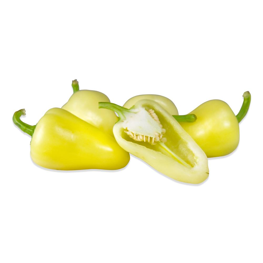 Fresh Yellow Caribe Peppers